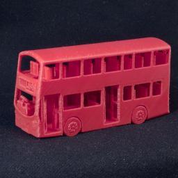 3d Printed New London Bus