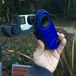 3D Printed GoPro Handy Cam Case