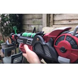 3D Printed Zombie Ray gun mk2 painted