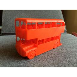 3d Printed London Routemaster Bus