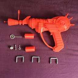 3D Printed Zombie Ray gun large model