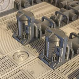 Pellentesque Cryo Chamber 3D game scenery 2 pack