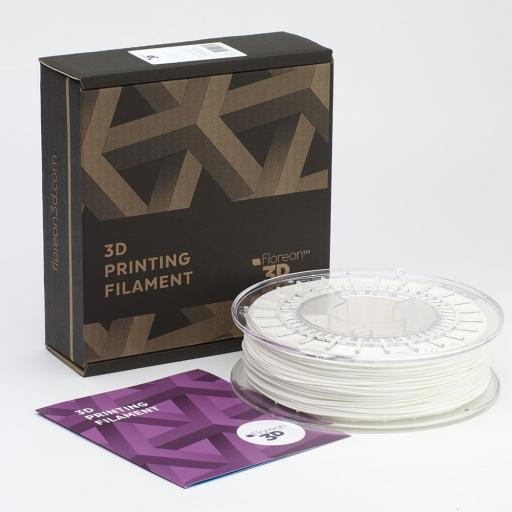 FLOREON 1.75MM WHITE PLA FILAMENT