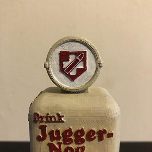 3D Printed Juggernog Zombie perk machine