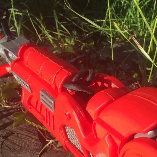 3D Printed Zombie Ray gun mk2