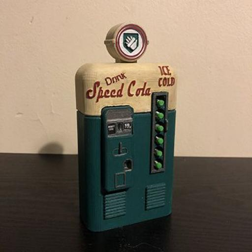 3D Printed Speed Cola Zombie perk machine