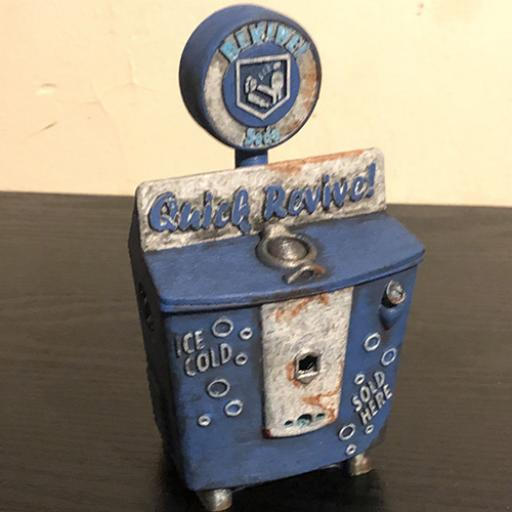 3D Printed Quick Revive Zombie perk machine
