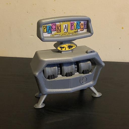 3D Printed Pack A Punch Zombie Perk Machine