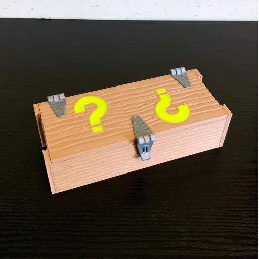 3D Printed Mystery Crate Perk